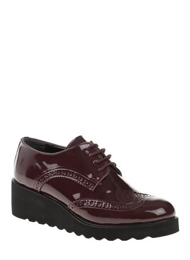 Dolgu Topuklu Oxford Ayakkabı-Bambi
